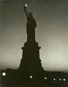 Andreas Feininger Statue of Liberty during Dim-Out. New-York Historical Society. Part of NYC exhibit thru New York City Images, New York Homes, Total War, Vintage New York, Historical Society, World War Two, Exhibit, Statue Of Liberty, Wwii