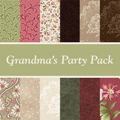 Patchwork Party Pack - 12 Piece Bundle