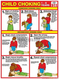 Child CPR Card (there is also one for infants on the website) by ...