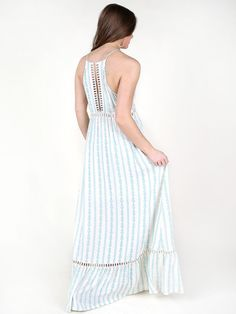 Altar'd State Latticework Maxi Dress - Sale