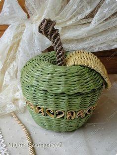 Manzana en verde.