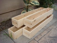 Custom Wood Planters,  Table Centerpiece, Flower Boxes,12 inch to 60 inch long, 6 inch high,  Garden Planter, Cedar Wood on Etsy, $17.00