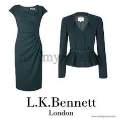 L.K. Bennett Jude Jacket and Davina Dress - WORN 3/8/12 12/9/15