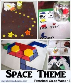 Space Themed Activities, Week 2, from Stay at Home Educator