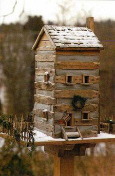 Rustic Birdhouse......