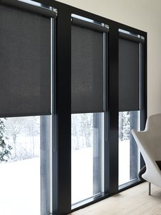 Minimalist Blinds 8 Ideas On Pinterest Curtains With Blinds House Blinds Blinds For Windows