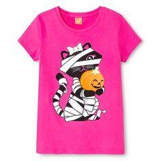 Big Girls Tee Shirt Circo® - Pizzazz Pink
