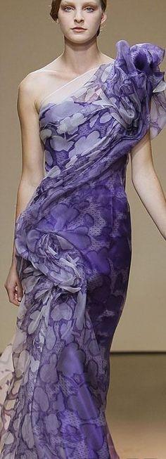 Dany Atrache purple #pourpre
