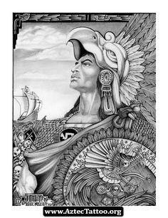 Badass Aztec Tattoos 01 - http://aztectattoo.org/badass-aztec-tattoos-01/