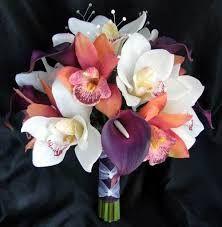 peach and purple boutonniere - Google Search