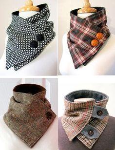Cum să croiești singură un guler detașabil original și superb - Fasingur Sewing Scarves, Sewing Clothes, Diy Clothes, Sewing Tutorials, Sewing Crafts, Sewing Projects, Diy Fashion, Ideias Fashion, Womens Fashion