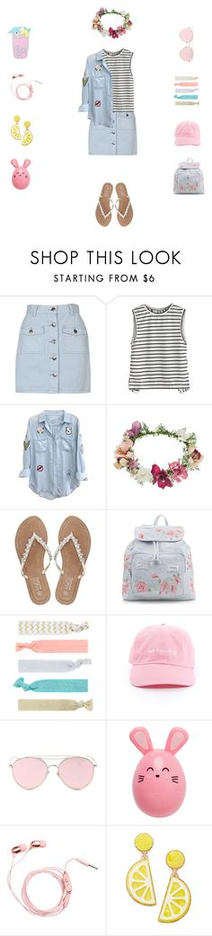 """""""😄"""" by blurryface13 ❤ liked on Polyvore featuring MINKPINK, Rails, Topshop, M&Co, New Look, Accessorize, LMNT, Celebrate Shop and Forever 21"""