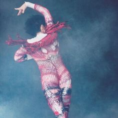 figure skater Johnny Weir in knitted outfit by Rodarte Ice Skating, Figure Skating, Knit Art, Crochet Art, Johnny Weir, New York Times Magazine, Sports Figures, How To Purl Knit, Crochet Fashion
