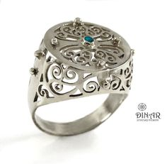 Hey, I found this really awesome Etsy listing at https://www.etsy.com/il-en/listing/221370586/silver-signet-ring-womens-statement-ring