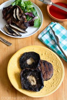 grilled portobello mushrooms magical a perfect complement to a grilled ...