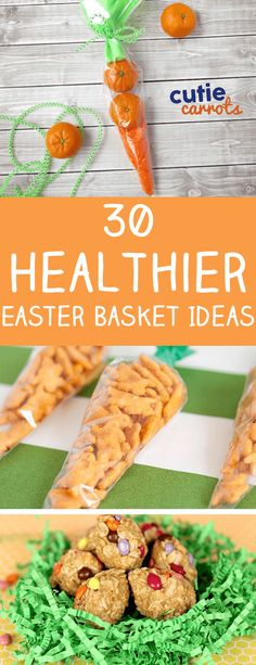 Looking for healthier Easter basket ideas?