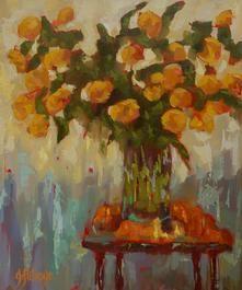 Ginny Futvoye - Oil Painting - Still Life
