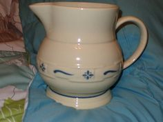 Red Wing Milk Pitcher | ... , Ohio, Longaberger Large Milk Pitcher, Excellent Condition, Signed