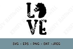 Love Horses SVG | The Hungry JPEG
