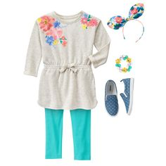 Girl's Wildflower Weekend Outfit by Gymboree