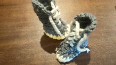 Cute crochet baby booties made out of soft wool. Crochet Baby Booties, Lace Up Booties, Handmade Items, Handmade Gifts, Cute Crochet, Marketing And Advertising, Making Out, Adidas Sneakers, Booty
