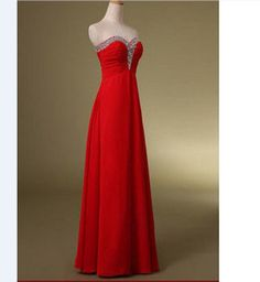 Coral prom dress beaded chiffon pageant dresses wedding party dresses long evening dress ball gown bridesmaid dress