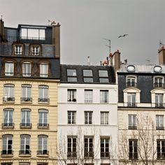 Gray Sky in Paris