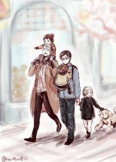 Viktor Nikiforov x Yuuri Katsuki / Viktuuri family/ Yuuri on Ice / YOI