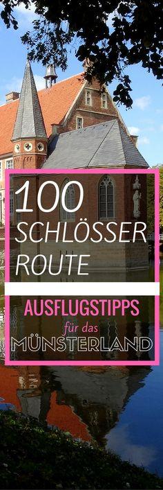100 Schlösser Route: Meine Ausflugstipps für das Münsterland Holidays Germany, Vacations To Go, World Pictures, Germany Travel, Amazing Destinations, Where To Go, Us Travel, Wonders Of The World, Travel Inspiration
