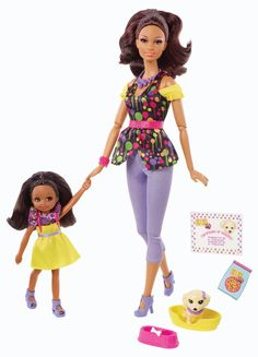 Amazon.com : Barbie So In Style S.I.S Pet Fun Fun Doll 2-Pack : Fashion Dolls : Toys & Games