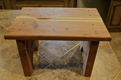 step stool wooden step stool kids step stool by RustysWoodworking