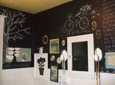 Add some creativity to the walls