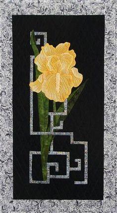 Quilt Pattern - Grannie G - Good Fortune Iris