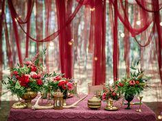 Декор свадьбы в ресторане Соби Клаб в Киеве