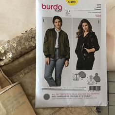 Something glittery coming this way! Sewing Blogs, Sewing Tips, Sewing Hacks, Sewing Tutorials, Sewing Projects, Burda Sewing Patterns, Sewing For Beginners, Diy Clothing, Chambray
