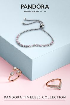Get your sparkle on with geometric pieces that radiate style in Pandora Rose and sterling silver. Explore the whole elegant jewellery from our Pandora Timeless collection, when you want your sparkle to be timeless, but also on point. Stylish Jewelry, Cute Jewelry, Jewelry Gifts, Jewelry Accessories, Women Jewelry, Pandora Jewelry, Pandora Charms, Wedding Band Styles, Graduation Gifts For Her