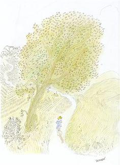 Plein été French Artists, Art Techniques, Vintage Advertisements, Graphic Art, Original Artwork, Drawings, Shel Silverstein, Forever, Prints