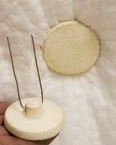 High Temp Buttons to hold fiber blanket in place Ceramic Supplies, Pottery Supplies, Pottery Kiln, Pottery Wheel, Ceramic Fiber Blanket, Refractory Brick, Raku Kiln, Frames For Sale, Ovens