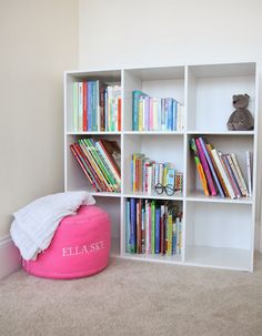 Baby Dolan/children's play room/books