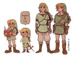 legend of link by evelmiina.deviantart.com on @deviantART