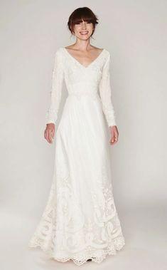 Classic Wedding Dress, French Wedding Dress, Simple Wedding Dress With Sleeves, Vestidos Vintage, Silk Chiffon, Silk Satin, Custom Dresses, Dream Dress, Bridal Dresses