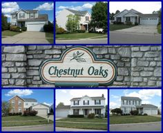 Chestnut Oaks community of Mason Ohio 45040.  Deerfield Township starter home community with no city income tax and access to Mason City Schools.  Click through to search for Chestnut Oaks homes for sale in Mason Ohio!