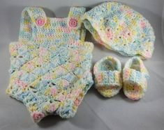 Infant Rompersummer   Etsy Mint Green, Yellow, White Trim, Rose Buds, Color Combinations, Hot Pink, Infant, Light Blue, Barn