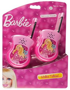 Barbie Walkie Talkies from Funstra Toys Toys For Girls, Kids Girls, Kids Toys, Pet Store Display, Minnie Mouse Games, Makeup Kit For Kids, Frozen Kids, Baby Doll Accessories, Barbie Toys