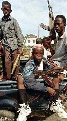 Sierra Leone Civil War, Theme Tattoo, Arte Do Hip Hop, War Photography, African Tribes, Liberia, Thug Life, Black Art, Funny Stuff