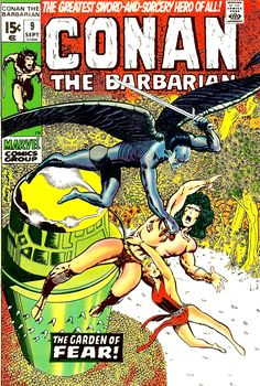 Conan The Barbarian September 1971 Marvel Comics Grade VF+ Dc Comics, Conan Comics, Read Comics, Anime Comics, Comic Book Artists, Comic Book Characters, Comic Books Art, Frank Miller, Marvel Girls