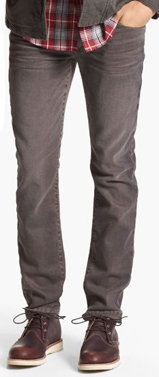 This wash by Joe's Jeans has the same earth tone as the Pantone Carafe, one of the 10 colors selected by Pantone for Fall 2013. It's versatile and can be paired with a dark wool sweater for fall or a plain white T-shirt come spring.