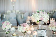 1920's Art Deco inspired wedding table décor.