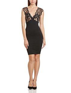 Binky Women's Waterloo Body Con Sleeveless Dress, Black (Black/Gold), Size 14 Binky http://www.amazon.co.uk/dp/B00KD5W85M/ref=cm_sw_r_pi_dp_Pwwlvb01WM86B