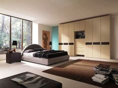 Furniture Stunning Mahogany Built In Wardrobe Closet Designs With